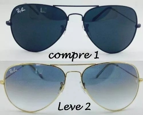 b11923c22 Pecas Reposicao Oculos Ray Ban - Óculos no Mercado Livre Brasil