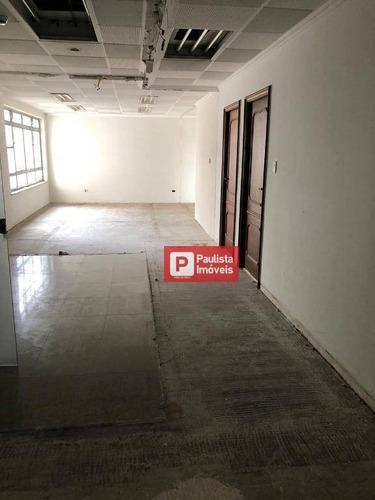 Imagem 1 de 15 de Conjunto Para Alugar, 150 M² Por R$ 2.100,00/mês - Consolação - São Paulo/sp - Cj1598