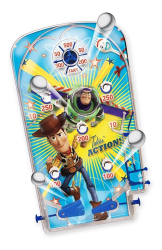 Flipper Pinball Disney Toy Story 4 Ditoys Infantil Original