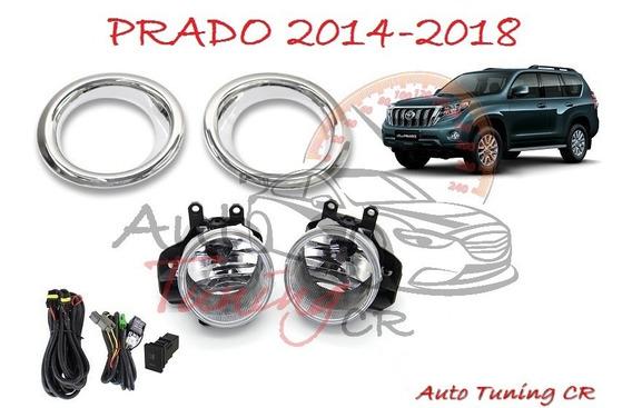 Halogenos Toyota Land Cruiser Prado 2014-2018