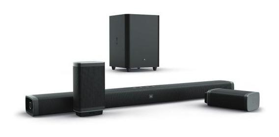 Soundbar Jbl 5.1 Sem Fio Wirelles 218w 4k 3d Garantia Nac