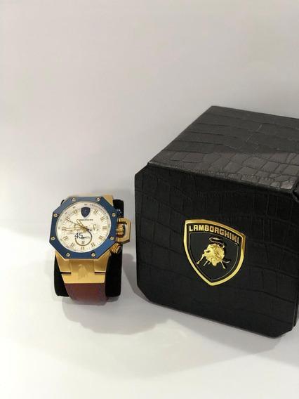 Relógio Lamborghini Quartz (modelo Lb9007662h)