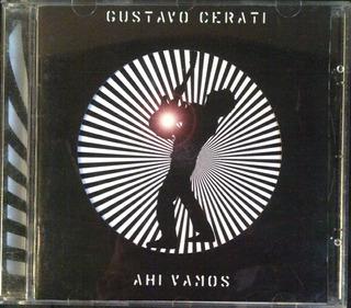Cd - Gustavo Cerati - Ahi Vamos - Original