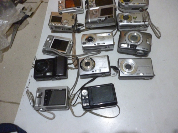 Maquina Fotografica Digital Lote 14 Unidades