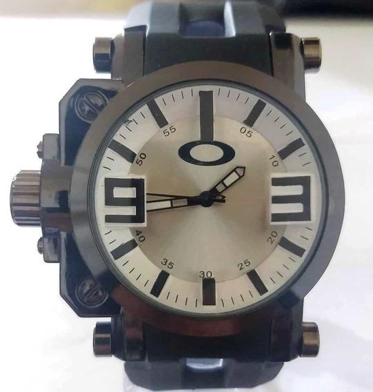 Relògio Masculino Analógico Oakley Gearbox Titanium, Barato