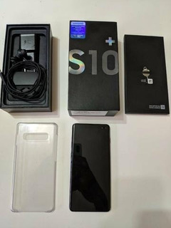 Samsung S10+ Plus 6gb Ram 128gb Desbloq Mostruario Novinho
