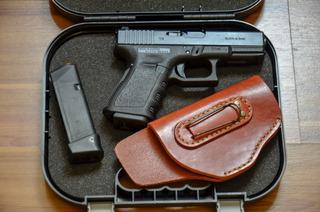 Coldre De Couro Glock G25, G19, Pt 938, Pt 838c, Hc Plus.