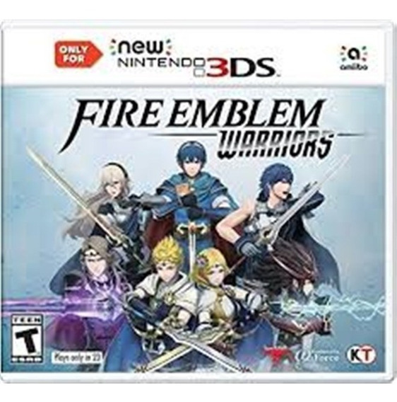 Fire Emblem Warriors New 3ds Mídia Física Novo Lacrado