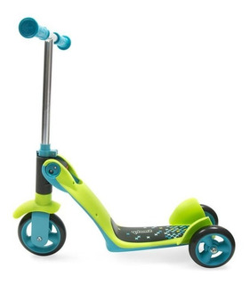 Patines Scooter Triciclo Montable 2 En 1 Smoby