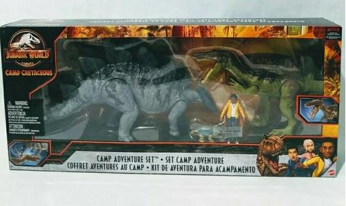 Imagen 1 de 6 de Jurassic World Set De Aventura Campo Cretacico 100% Original
