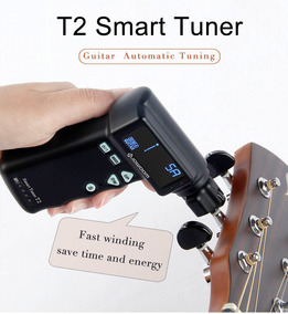 Afinador Automatico T2 Smart Tuner Todos Instrumentos Corda