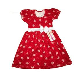 Lote Kit 10 Vestidos Infantil Femininos Roupa Menina Atacado