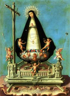 Lienzo Tela Arte Sacro Virgen De La Soledad José Campeche