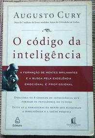 Livro O Código Da Inteligência - Augusto Cury