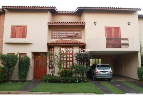 Casa Com 4 Dormitórios À Venda, 284 M² Por R$ 850.000,00 - Cidade Universitária - Campinas/sp - Ca0272