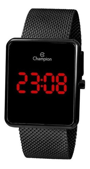 Relógio Champion Digital Led Unissex Ch40080d