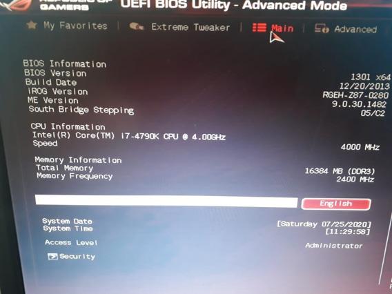 Kit Gamer Maximus Vi Hero + 4790k + 16gb 2400mhz