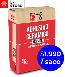 Tx Adhesivo Cerámico 25kg - El Mas Barato