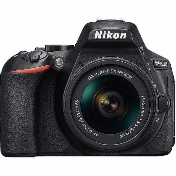Câmera Nikon D5600 Dslr Af-p 18-55mm Vr P/ Entrega
