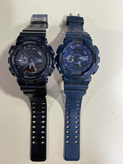 Relógio G-shock. Semi Novo Em Perfeito Estado Preto / Azul
