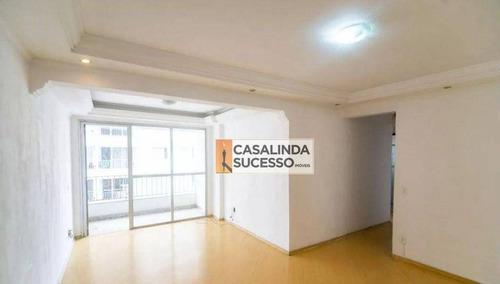 Imagem 1 de 19 de Apartamento Com 2 Dormitórios Para Alugar, 69 M² Por R$ 1.600,00/mês - Vila Carrão - São Paulo/sp - Ap5275