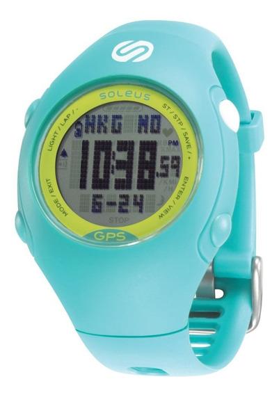 Relógio De Pulso Soleus Gps Mini - Azul Claro