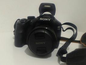 Câmera Semi-profissional Sony Alpha Ilce 3000k - 20.1mp