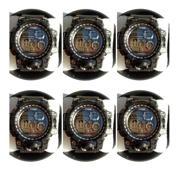 Kit C/5 Relógios Masculinos Multi-marcas Atacado Revenda