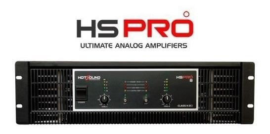 Amplificador Hs Pro-8 - Hot Sound (transformador Queimado)