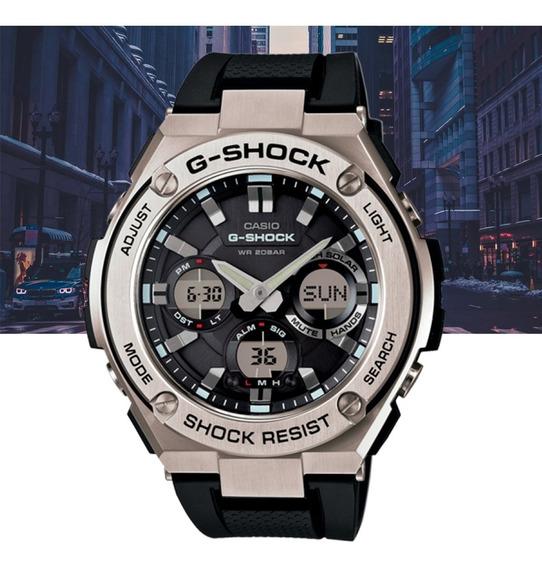 Relógio Casio G-shock G-steel Gst-s110-1adr Prata