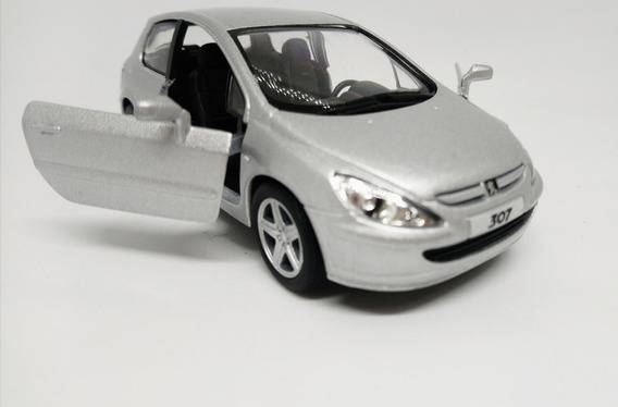 Miniatura Peugeot 307 Xsi Ano 2001 Escala 1/32 Top Detalhada