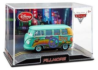 Cars 2 Fillmore Volkswagen Disney Store Caja De Acrílico