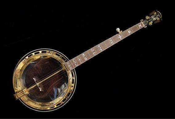 Banjo Americano Aria Sb600 Deluxe 5 Cordas