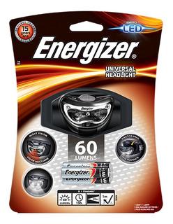 Linterna Energizer Manos Libres Minera 60 Lumens 2 Leds
