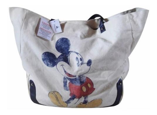 Bolsa Mickey Park Disney 100% Original E Importada Grande