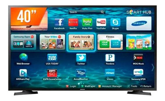 Smart Tv Samsung 40 Polegadas Led Full Hd Lh40rbhbbbg/zd