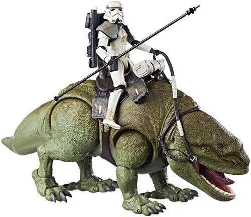 Sand Trooper Y Dewback Star Wars Figura Black Series