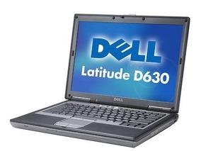 Notebook Dell Latitude D630 Intel Core2 Duo 4gb 250gb Wifi