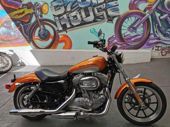 Harley-davidson Superlow 883 2014 Titulo Limpio Checala!!!