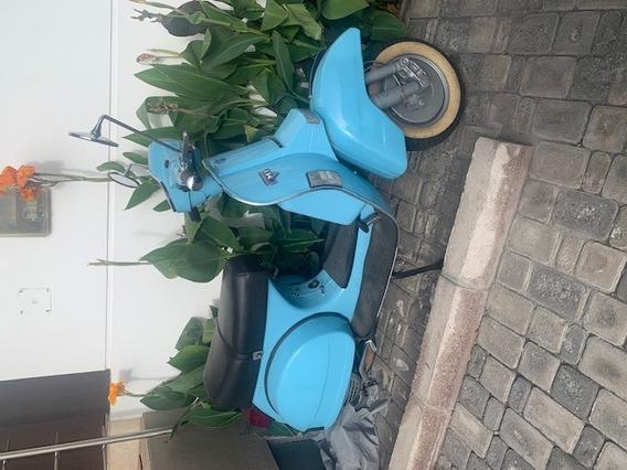 Hermosa Moto Clásica Lml Tipo Vespa Año 2001