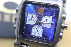 Relógio Tank Minute Machine Oakley Azul