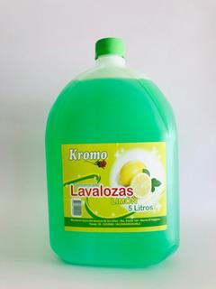 Lavalozas Kromo Aromo Limón De 5 Litros