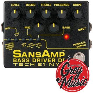 Tech21 Sansamp Bass Driver V2 Bsdrv2 (141814)