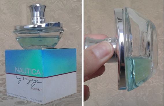 Perfume Feminino Nautica My Voyage Descontinuado Usado