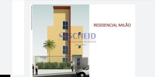 Apartamento Com Um Dormitório No Campo Grande! - Mr72699