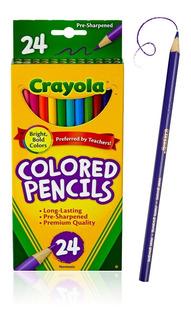 Colores Crayola Lapices De 24 Unid - Unidad a $1667