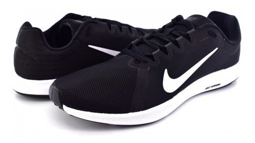 Tenis Nike 908984 001 Black/white-anthracite Downshifter 8 G