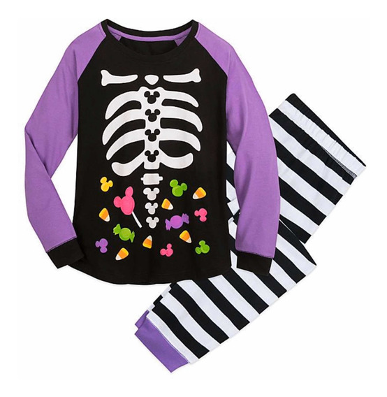 Disney Halloween Pijamas Para Mujer Talla Medium