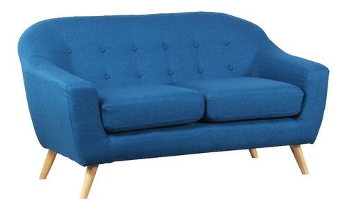 Sillon Sofa Nordico Escandinavo Telalavable 2 Cuerpos Dyd