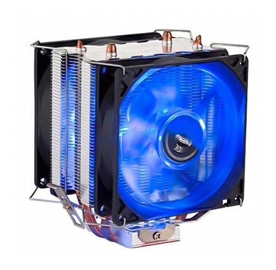 Cooler Duplo P/ Cpu Pc Intel Amd 775 1150 1151 1155 Am3+ Am4